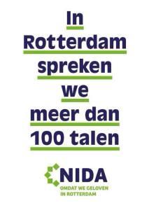 """In Rotterdam we speak more than 100 languages"""