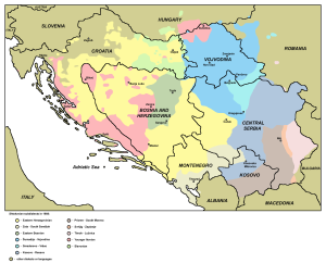 serbocroat dialects nationalism former yugoslavia