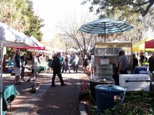 Marion Square Market Charleston