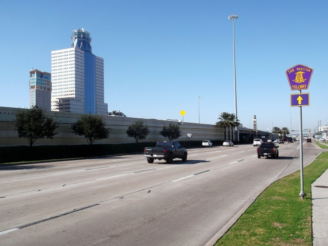 Houston frontage roads