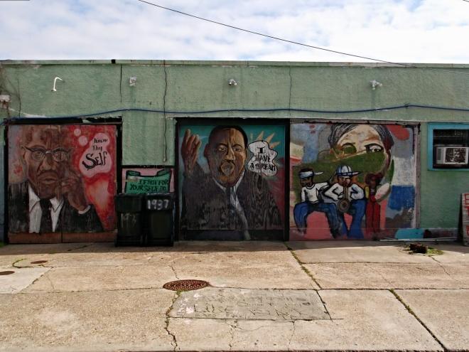 Tremé graffiti Martin Luther King