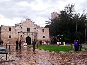 The Alamo, most famous tourist destination of San Antonio