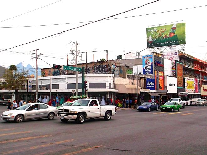 Avenida Juarez Monterrey