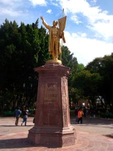 Querétaro Parque Alameda statue