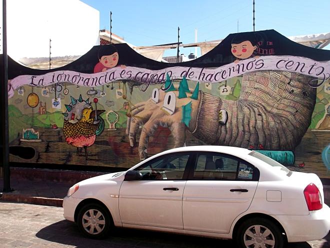 Querétaro graffiti