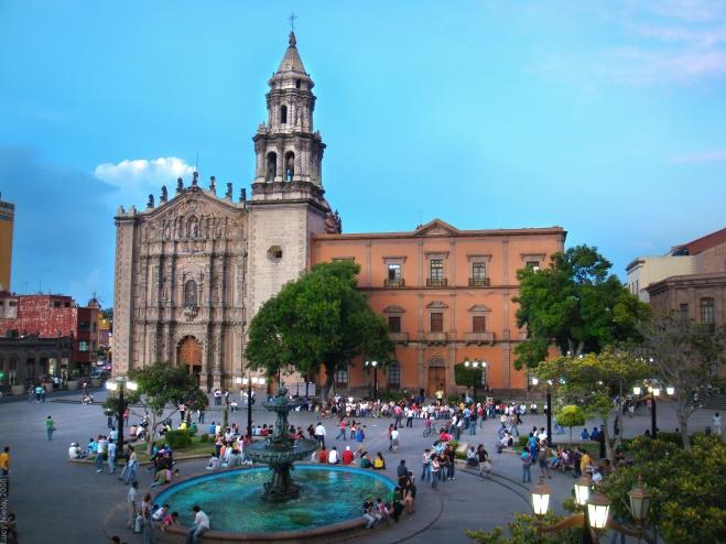San Luis Potosí Plaza del Carmen